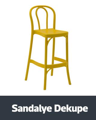 Sandalye Dekupe